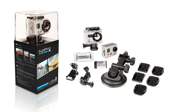Die GoPro HD Hero hat für jedes Problem eine Lösung