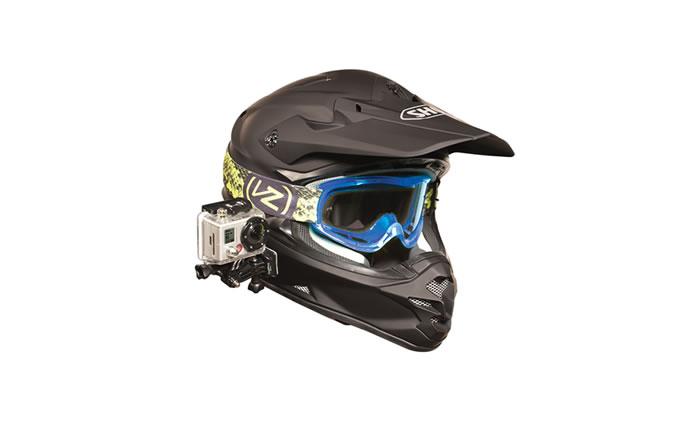 Die GoPro Helmhalterung