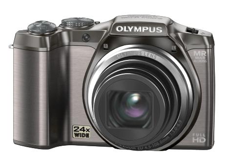 Die Olympus SZ-31MR ist eine günstige Digitalkamera mit 3D Funktion