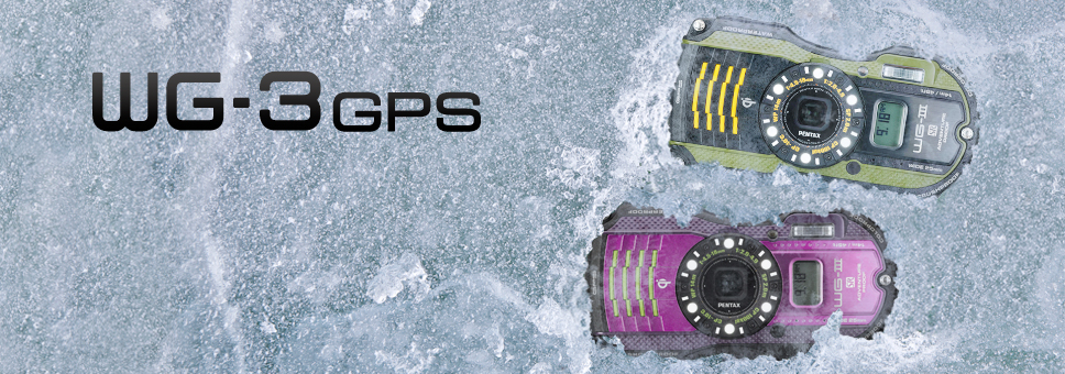 Die neue Pentax WG-3GPS gemacht für Abenteuer und Sport