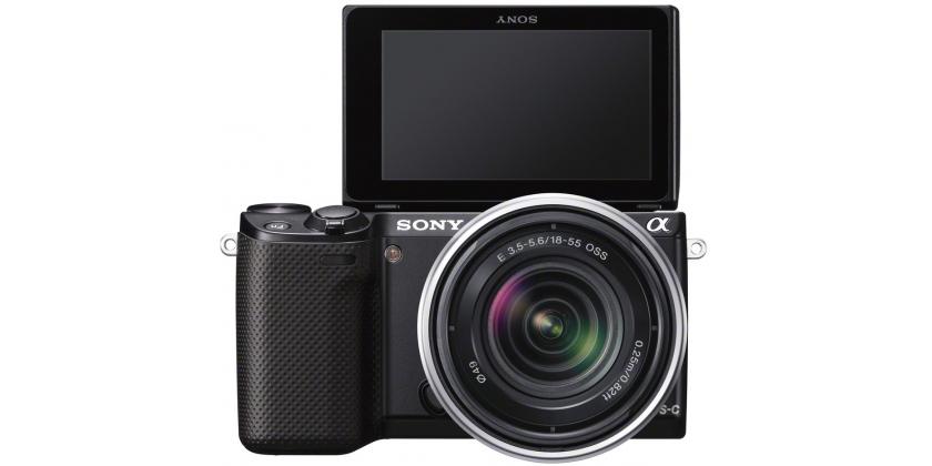 Sony NEX-5R spiegellose Systemkamera